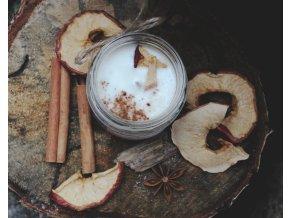 NA KOPEČKU Sójová svíčka Jablečný závin 150 ml