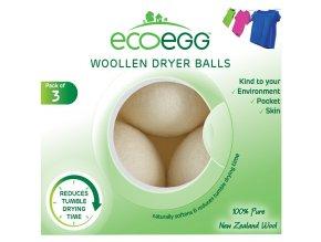 389955 ecoegg woollen dryer balls 144g