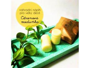 citronova medunka nahradni napln