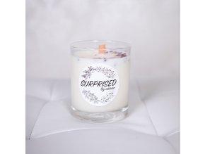 SURPRISED BY NATURE Sójová svíčka Jemná vanilka 175 g