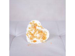 SURPRISED BY NATURE Sójový vosk do aromalampy Pomerančové nebe - srdce 35 g