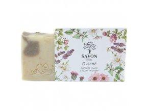 ovesne prirodni mydlo s kozim mlekem savon l