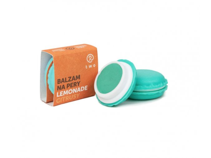 Two cosmetics Balzám na rty Lemonade (7 g)