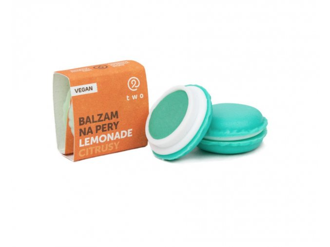 Two cosmetics Balzám na rty Lemonade Vegan (7 g)