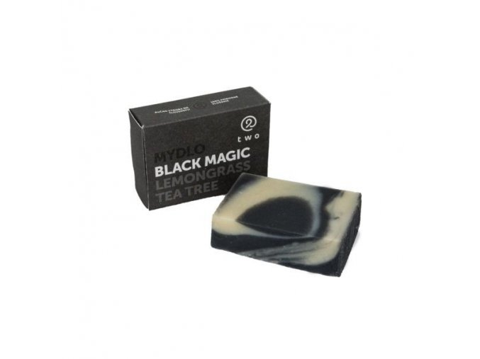 Two Cosmetics Tuhé mýdlo Black Magic (100 g)