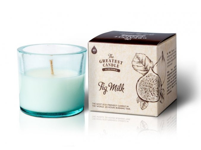 The Greatest Candle Vonná svíčka ve skle (75 g) - fík