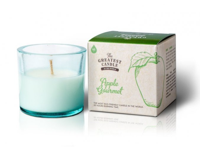 The Greatest Candle Vonná svíčka ve skle (75 g) - jablko