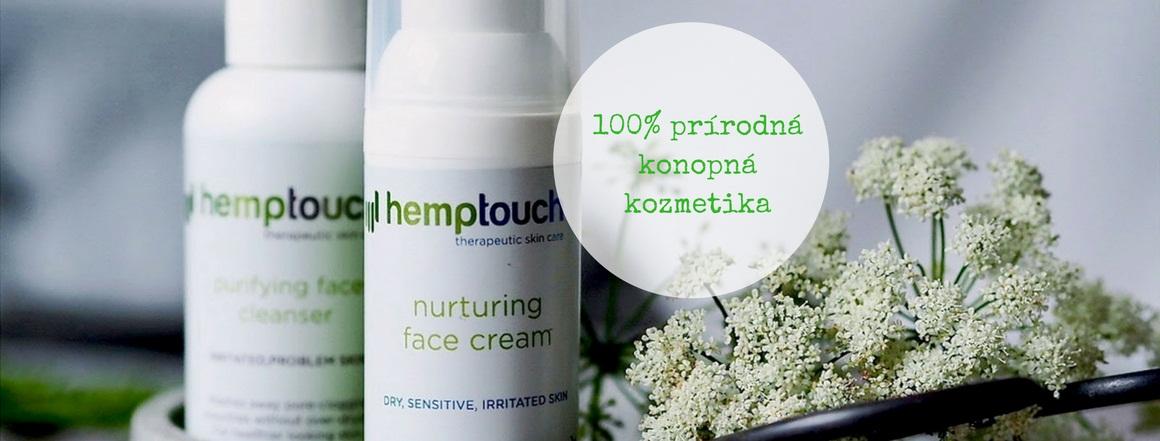 Hemptouch - prírodná konopná kozmetika