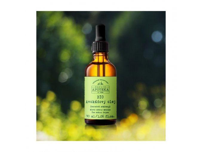 bio avokadovy olej 30ml