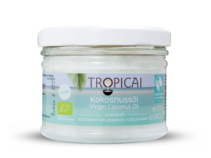 tropicai kokosovy olej 340ml