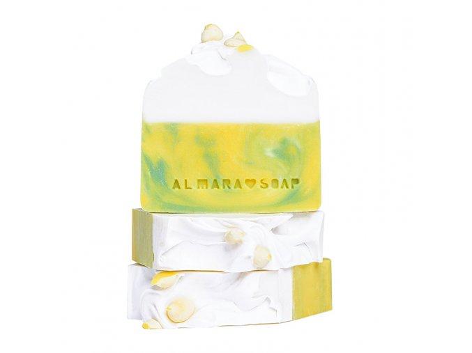 Lemon Tea Tree - prírodné dizajnové mydlo AlmaraSoap