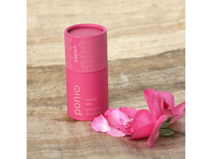 Ružová alej - prírodný dezodorant
