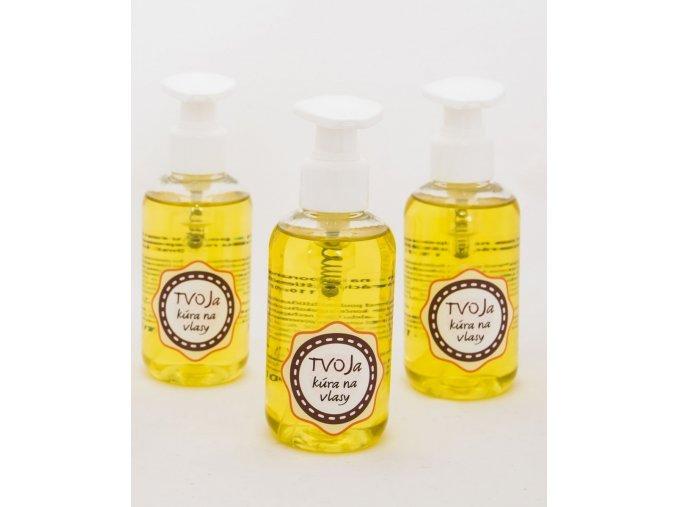 TVOJa Olejová kúra na podporu rastu vlasov a regeneráciu rozštiepených končekov