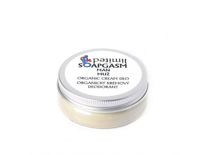 MUŽ - organický krémový deodorant