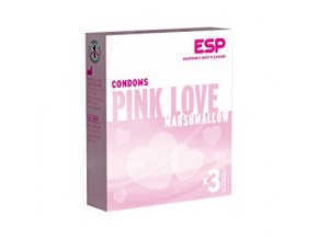 pink love kondómy ESP 3ks