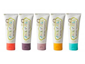 Prírodná nechtíková detská zubná pasta