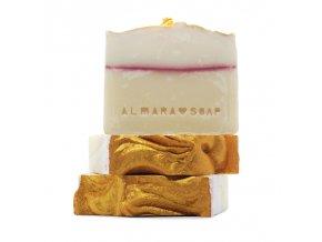 new year champagne mydlo almarasoap