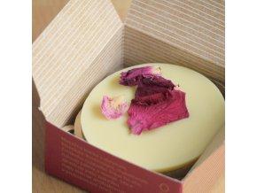 Ružová alej - masážna kocka 50g