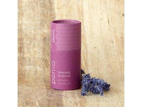 Levanduľa a čajovník - prírodný deodorant