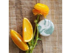 Pomaranč a eukalyptus - žihľavový šampúch 30g