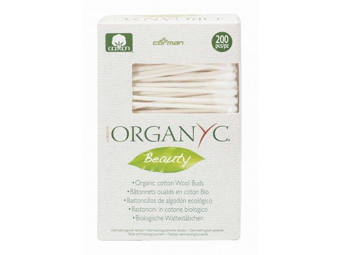 Corman - ORGANYC Bio Organyc vatové čistící tyčinky