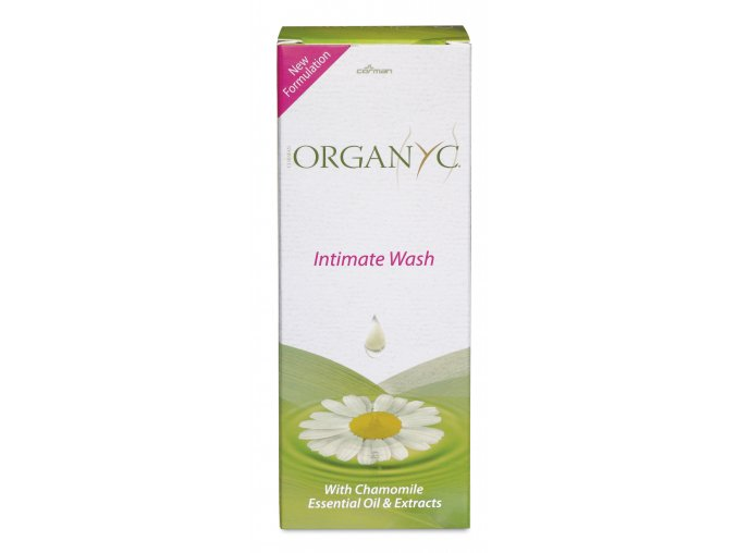 Corman - ORGANYC Bio Organyc Intimate Wash pro intimní hygienu s heřmánkem, 250 ml