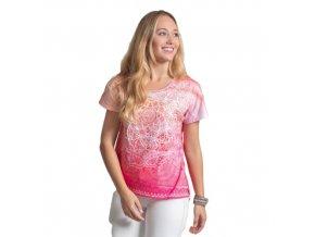 Tričko z bio bavlny s mandalou (Velikost XXL)