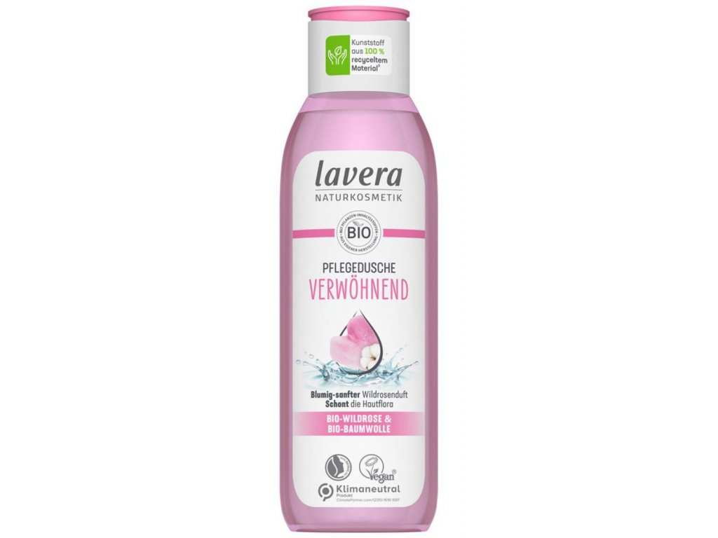 lavera pampering organic wild rose shower gel 200 ml 1181639 en