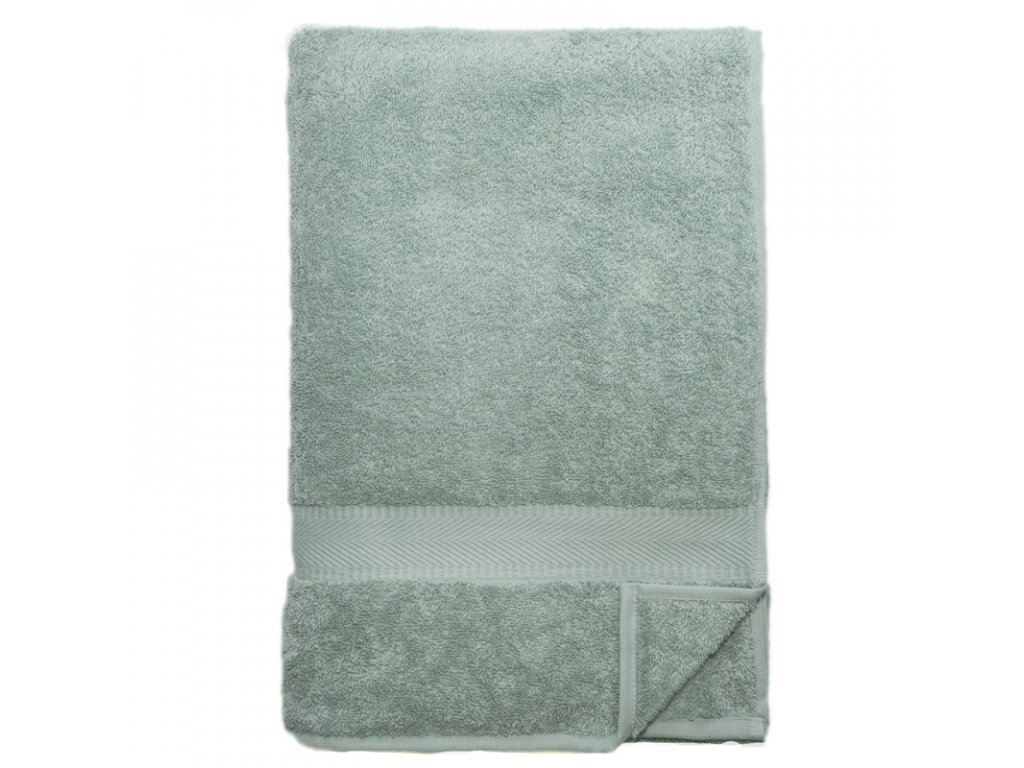 bathing towel 100x180cm mineral green