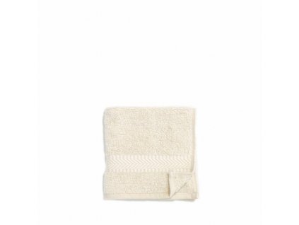 towel 50 x 100 cm natural white