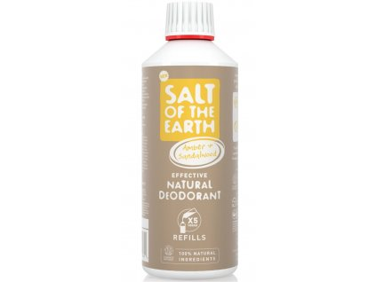 salt of the earth refill amber and sandalwood