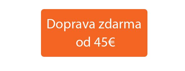 Doprava zdarma od 45€