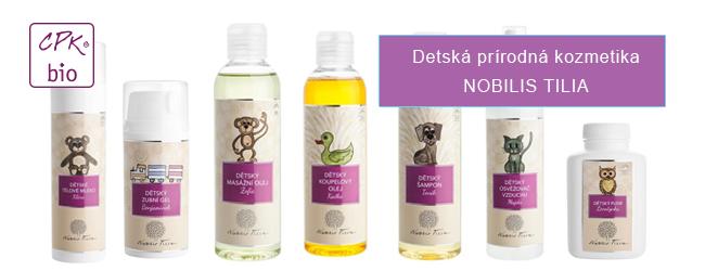 Detská prírodná kozmetika Nobilis Tilia