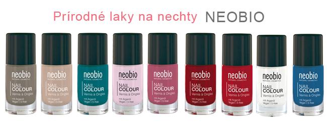 Prírodné laky na nechty Neobio