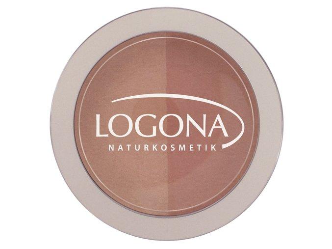 Farba na líčka 03 beige-terracotta LOGONA (Objem 10 g)