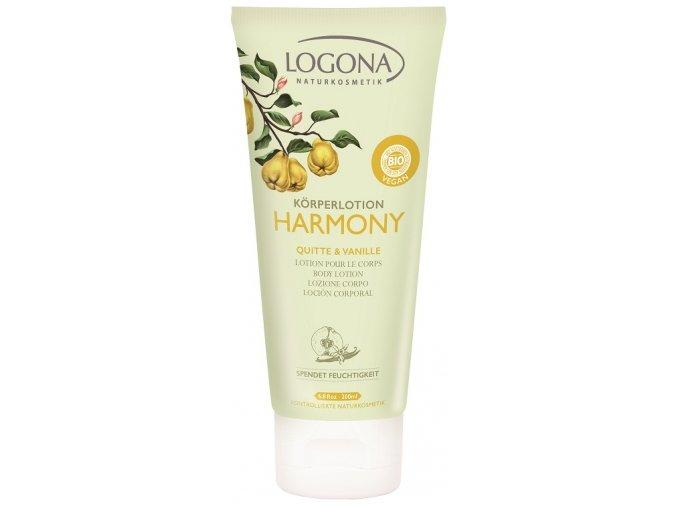 Harmony Telové mlieko dula & vanilka LOGONA (Objem 200 ml)