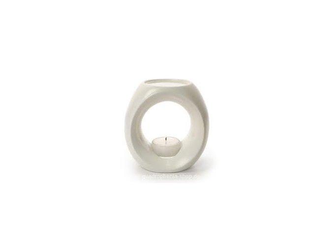 Aroma lampa - krémovo biela - Primavera (Objem 1 ks)