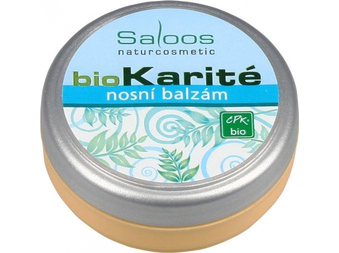 Nosový balzam Bio Karité Saloos (Objem 19 ml)
