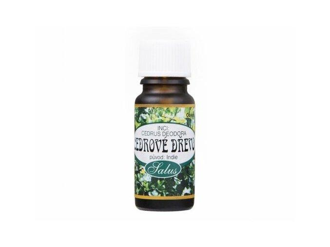 Cédrové drevo éterický olej - Saloos (Objem 10 ml)