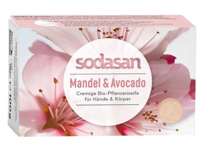 mydlo mandla avokado sodasan