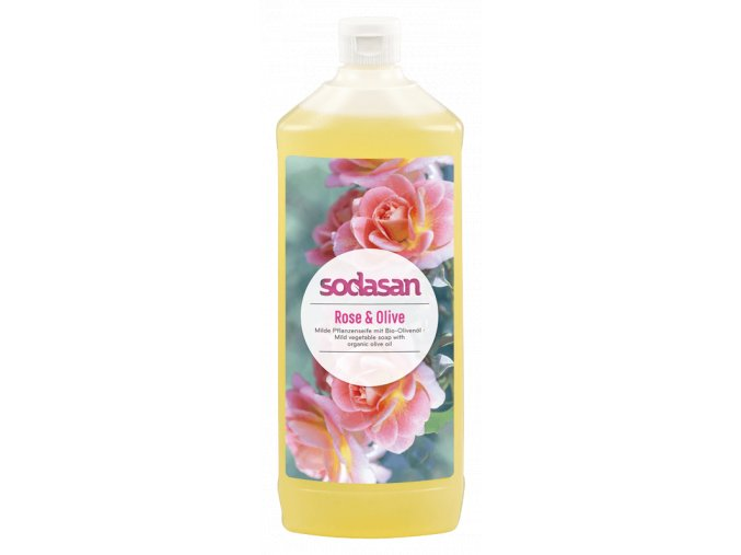 tekute mydlo ruza sodasan