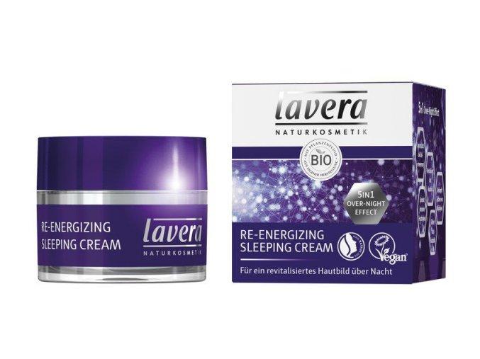 Nočný krém Re-energizing Lavera (Objem 50 ml)