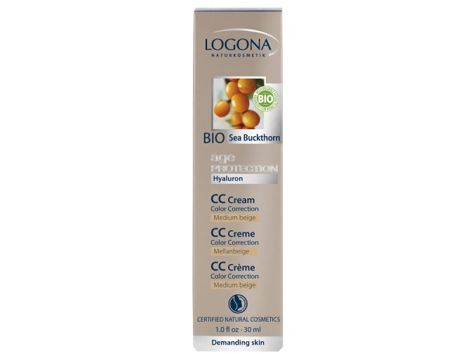 Age Protection CC krém Medium beige LOGONA (Objem 30 ml)