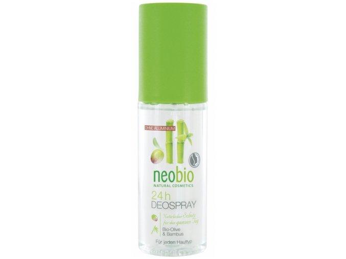 Deo spray BIO oliva & bambus Neobio