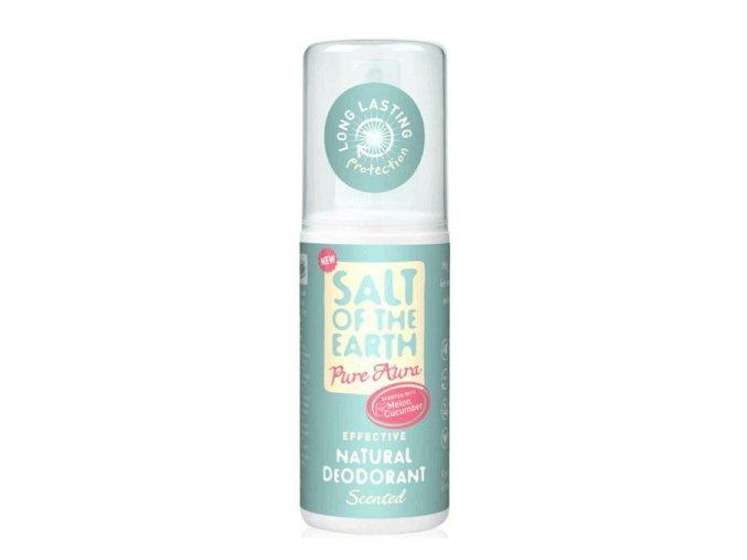 deodorant sprej sol zeme melon uhorka 100ml