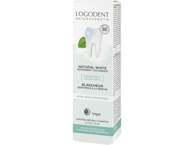 logodent zubna pasta natural whitening 898