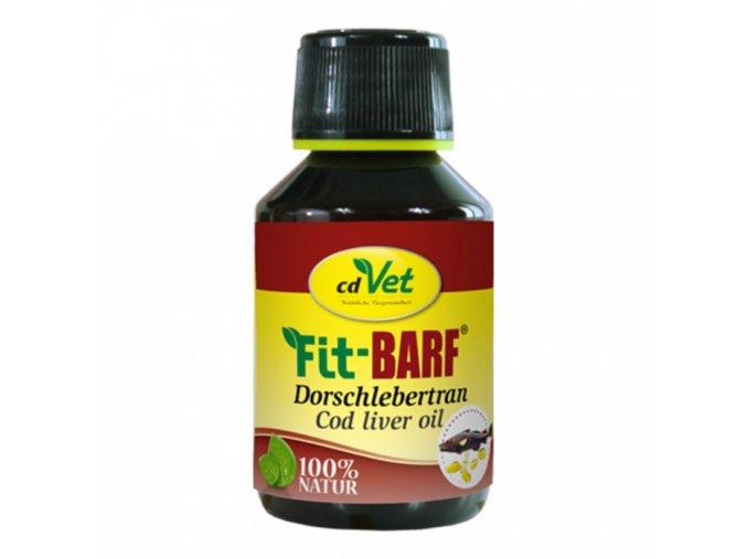 Fit-BARF Rybí olej z tresčej pečene - CD Vet (Objem 100 ml)