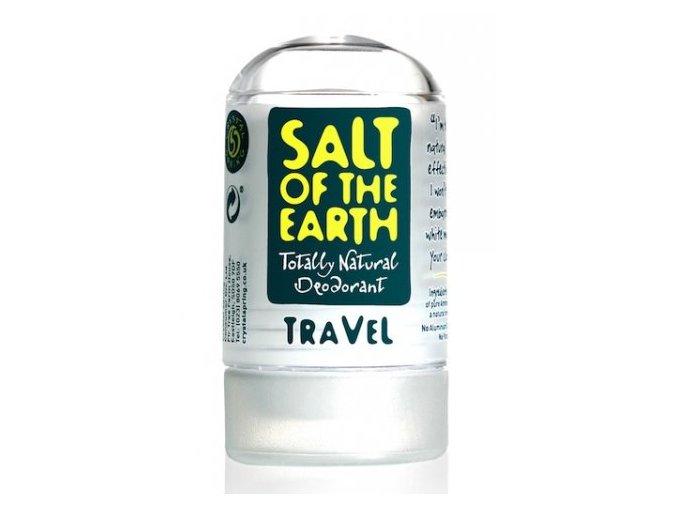 Tuhý deodorant Soľ Zeme - Crystal Spring (Obsah 50 g)