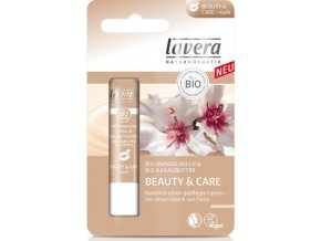 Balzam na pery Telový Beauty & Care - Lavera