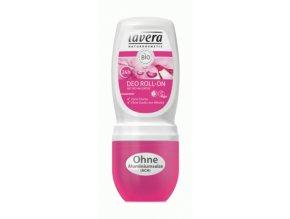 Deodorant roll-on BIO Divoká ruža - Lavera (Objem 50 ml)